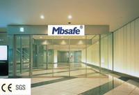 MBS automatic glass sliding door /automatic sliding door mechanism