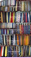 Wholesale Silk Polyester Solid Fabric Woven Printed Neck Tie