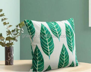 cotton and linen digital printed decoration pillow cushion