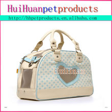 Luxury dog pet carrier bag for cat & dog