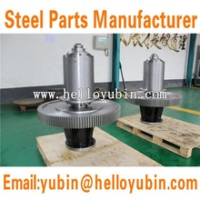 Cylindrical Herringbone Gear , Outside Herringbone Gear , Bevel Gear Shaft