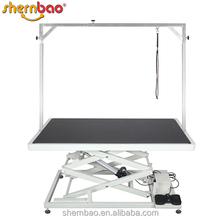 Shernbao FT-808 Height Adjustable Low Electric Dog Table Pet Grooming Table Dog Supplies