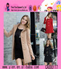 2015 New Style Woolen Europe Design Coat High Quality Casual Show Thin OEM Ladies Coat Model