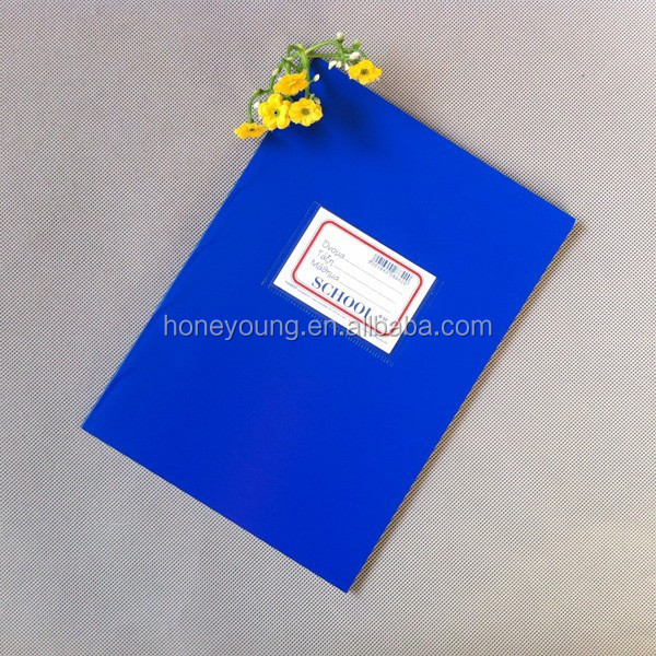 flexo printing wholesale notebook with pocket