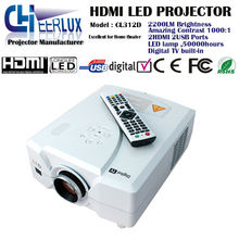 cheerlux easy operation led projector