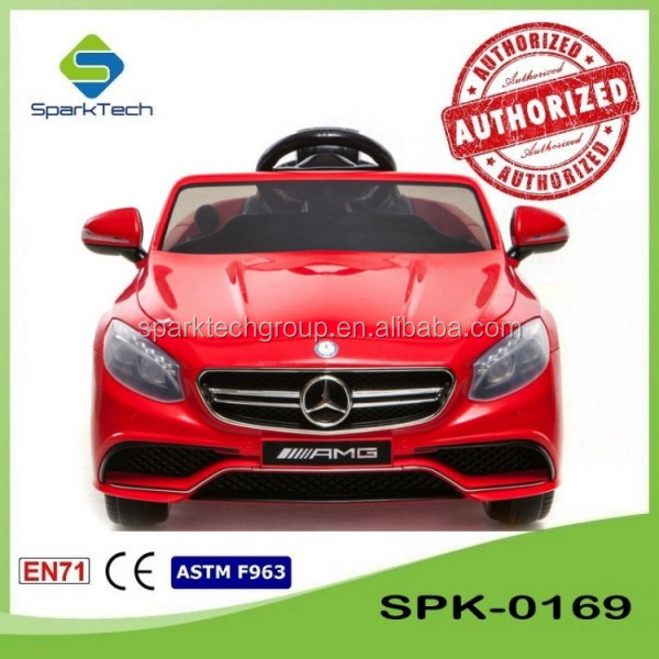 Licensed Mercedes Benz S63 Kids Car Toy Automatic, Four Wheel Drive Toy Car, Children Motor Car Toy SPK-0169