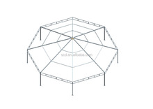 Dia 8m Cheap Iron Frame Wedding Party Octagon Tent
