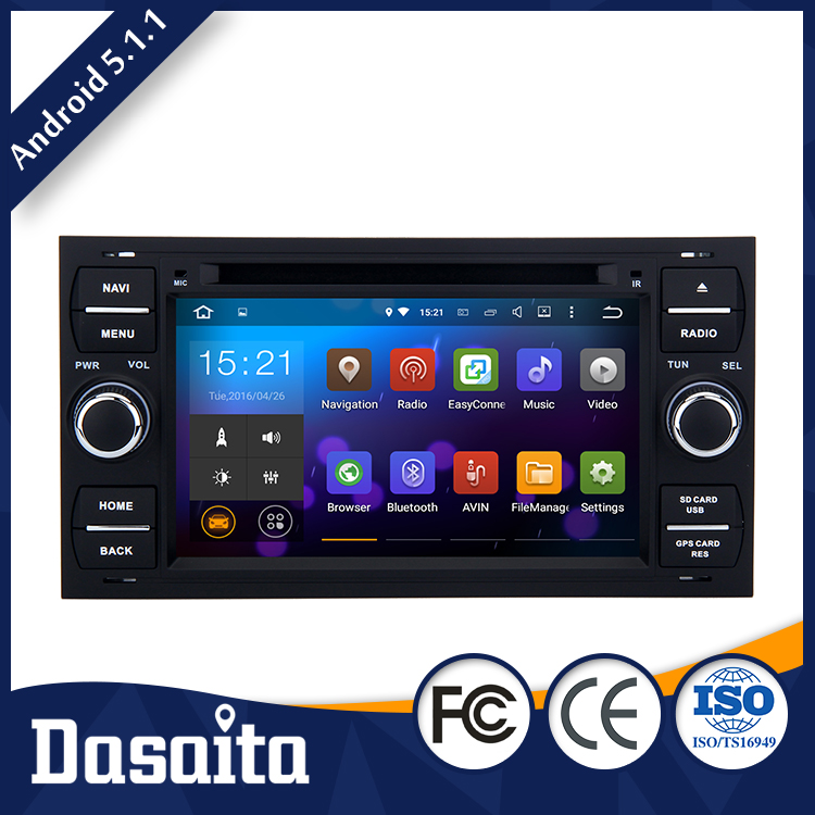 wholesale Rear camera digital tv 7 inch car dvd gps navigation 1080p video enjoyment android for ford connect