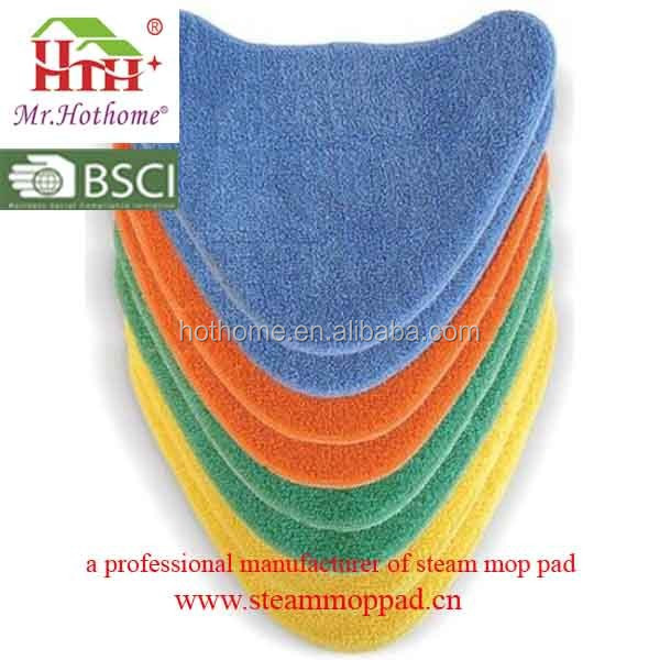 Vax Genuine Total Home 8x Velcro Microfibre Multi-Colour Cleaning Pads/High Quality Steam Mop Pads