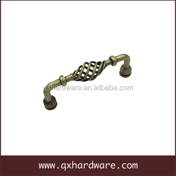 Modern cabinet hardware iron furniture handles