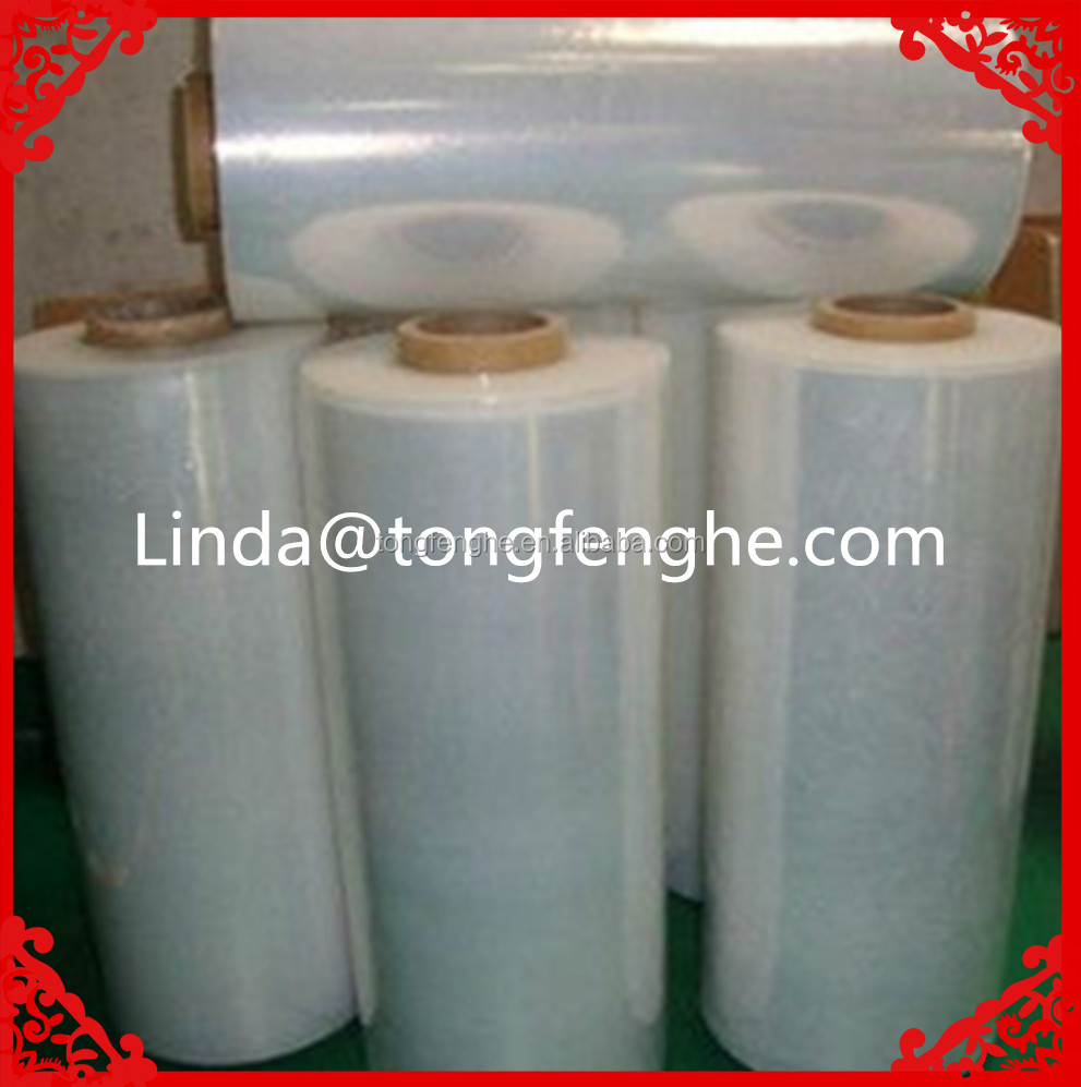 Hot Film Clear Lldpe Pallet Wrap Packing Foil