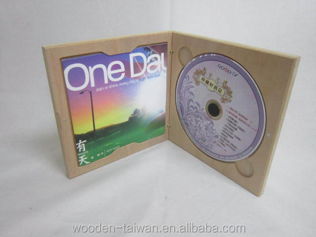 Customized OEM/ODM wood CD/DVD/VCD Case