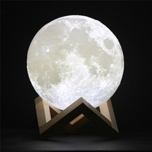 15cm Touch Moon 3d Printer Luna Moonlight for ningt lamp