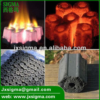 Hexagon Briquette Charcoal, BBQ Charcoal