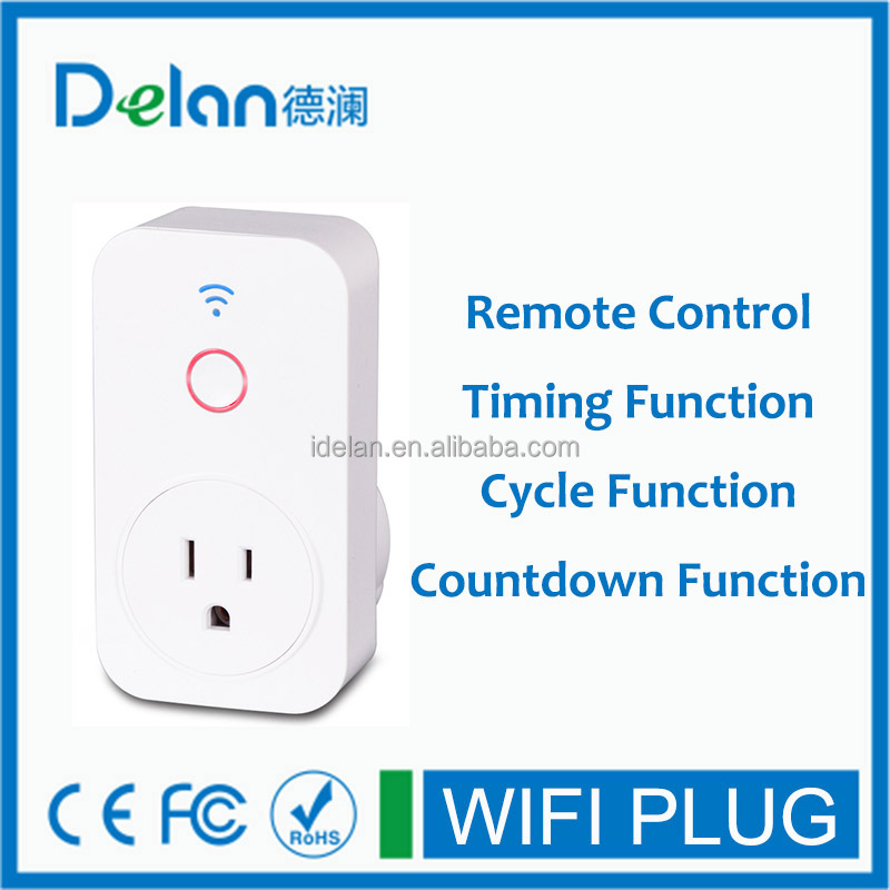 wifi smart socket for remote control