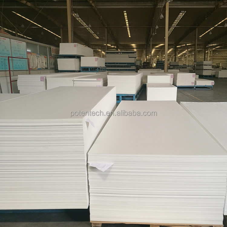 High density rigid pvc plastic sheet polystyrene foam board with various thickness