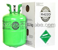 Mixed refrigerant gas R422D 99.9% purity good price made in China R422b