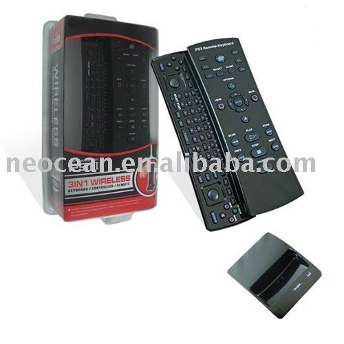 Paypal accepted, For PS3 3in1 keyboard/controller/remote