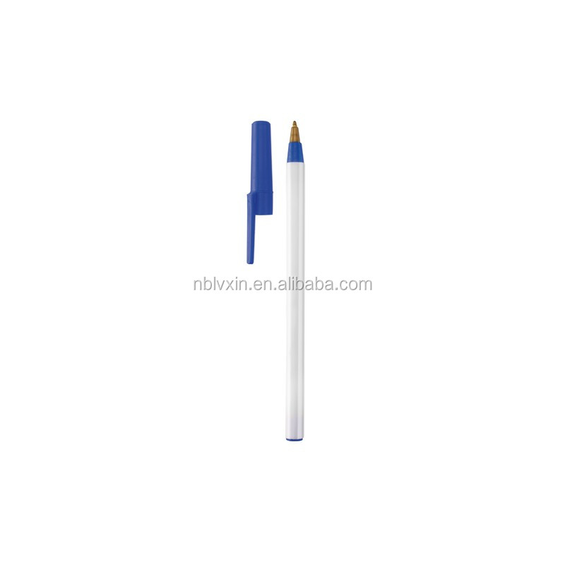 Manufacturer selling Promotional Ball Pen,plastic ballpen,ball point pen with cap