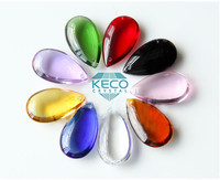 Advance material glass pendant for chandeliers, keco crystal is a manufacturer of all kind of crystal parts for lighting