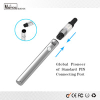 shenzhen fashion health electronic cigs usb 2 pin refill vape super slim wax oil wax vaporizer e cig