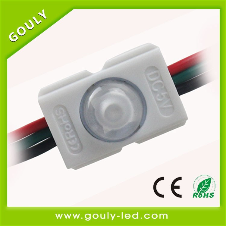 china high quality 12v Waterproof injection smd rgb led module 5050 waterproof light