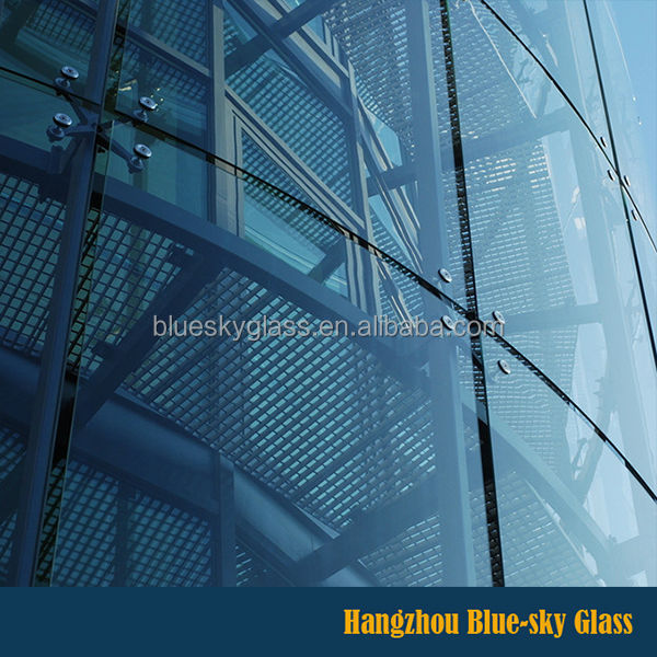 Low E Double Glazing Insulated Glass For Curtain Wall