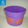 Various Style Of Plastic Candy Bucket For Halloween
