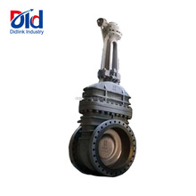 Large Size Carbon Steel Flanged Rising Stem Gear Operated Gate Valve