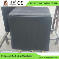 Wholesale black basalt slab in high quality