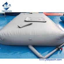 low price durable PVC portable water bladder plastic liquid tank