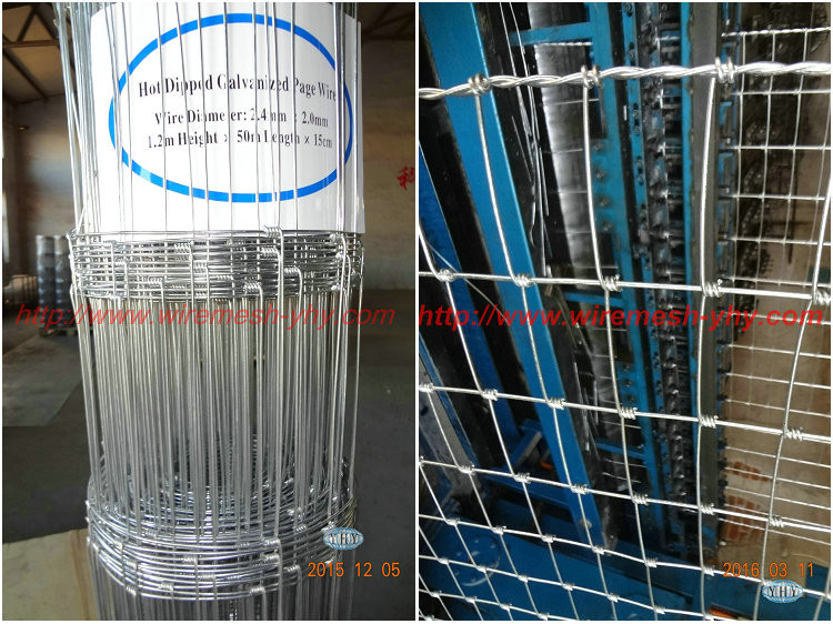 edge wire 3.5mm 3mm 2.4mm 2.5mm galvanized farm field fence