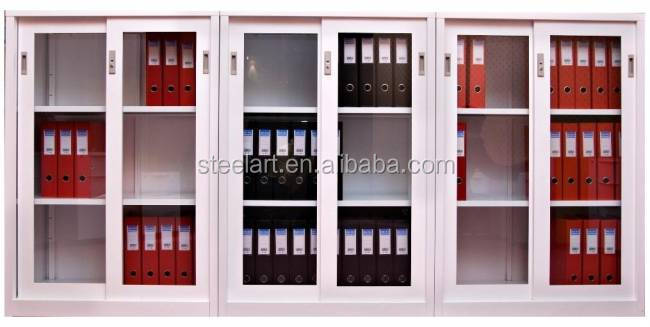 China OEM meatl special use glass door cabinet