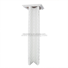 foldable square white column pillar stand wedding decoration