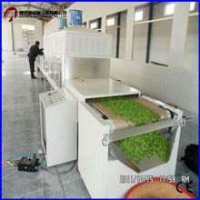 Microwave tobacco leaves drying/dehydration machine/leaf dryer machine