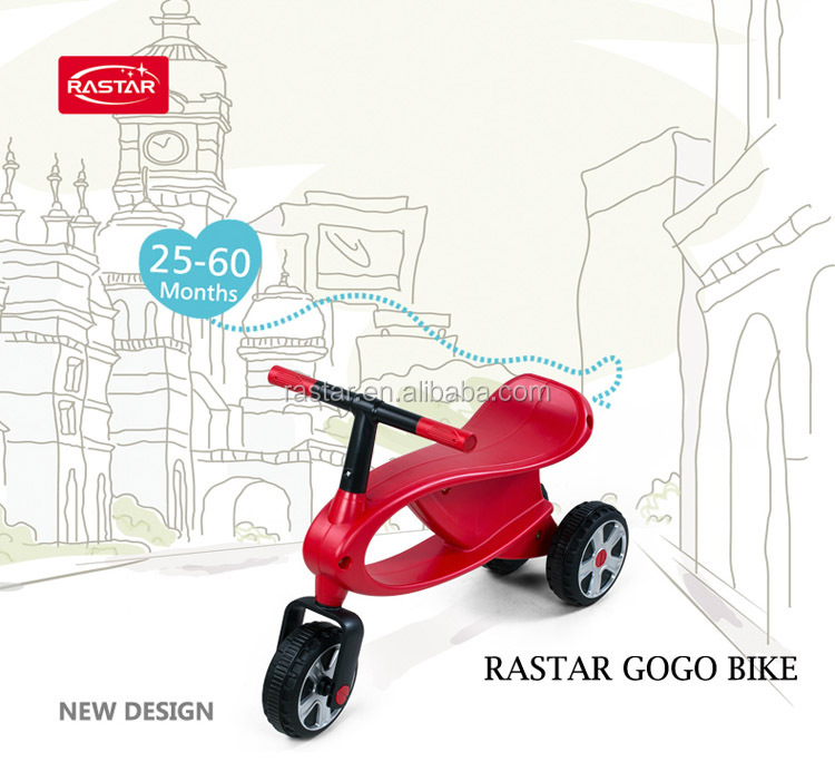 Rastar new product kids toys 3 wheel tricycle bicycle