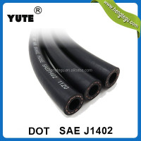dot fmvss 106 trailer truck sae j1402 3/8 inch coil air brake hose assembly