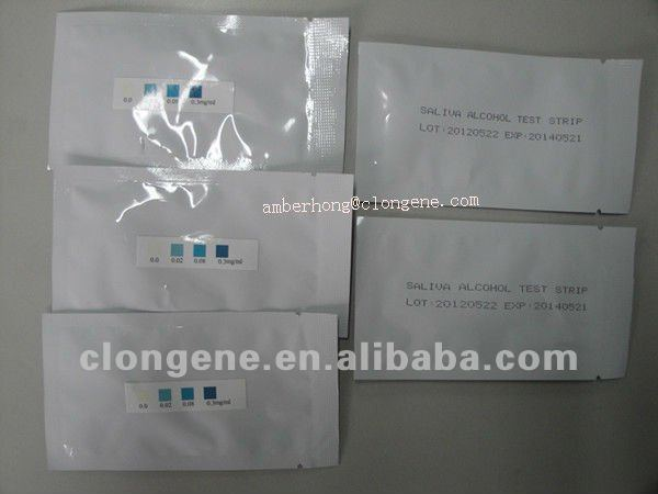 Alcohol Test, Alcohol Test Equipments, Rapid Alcohol Test Strip