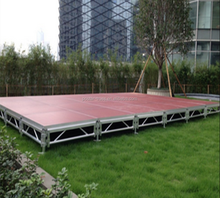 2015 Popular Anti-slip & Waterproof 18mm thickness plywood Outdoor Aluminum stage