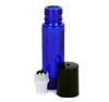 Wholesale 10ml Empty Blue Glass Roller Perfume Bottle with Ball Roller