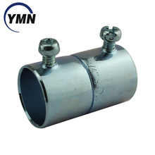 UL Listed Factory Price Zinc Plated Steel EMT Coupling