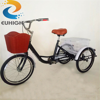 Classic cargo tricycle adult tricycle/3 wheel pedal bike for sale
