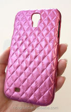 Designer Pink Diamond Leather Case Cover For Samsung Galaxy S 4 i9500