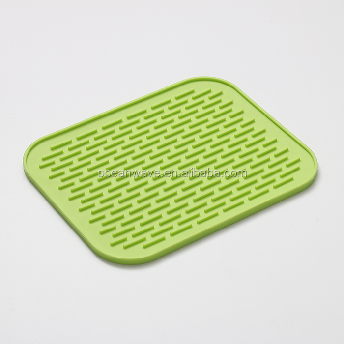 100% silicone pot holder dining table mat