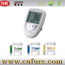 Medical equipment blood glucose meter with cholesterol,cholesterol machine