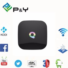 Cool Android 5.1 Lollipop TV Box Amlogic S905 2GB 16GB KODI 16.0 Loaded Built in WiFi Amlogic S905 2GB 16GB Q Box accept OEM