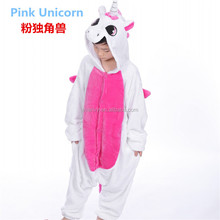 Soft Blue/Pink/White Pegasus Animal Pajamas For Kids,Home Dress