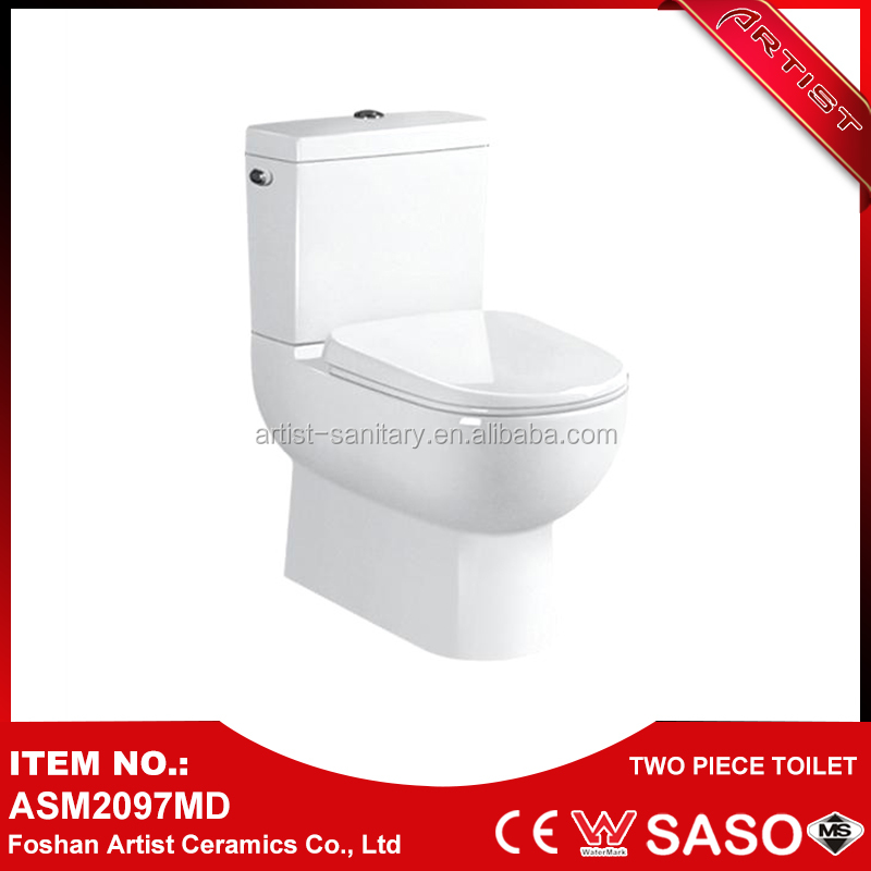 New Product Launch Import High Quality Two Piece Hospital Toilet