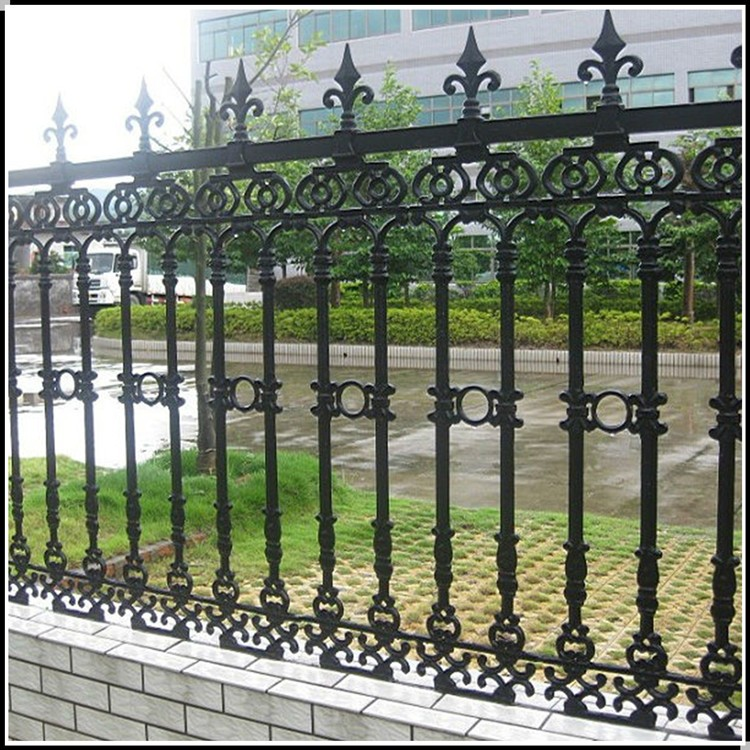 Villa wall fence