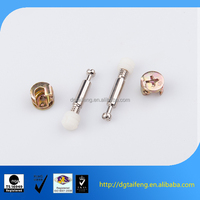 Dongguan hardware galvanized steel furniture screw connecting bolt
